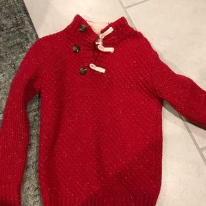 Cat and jack sweater boys size 5